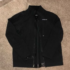 Men's Black Patagonia Winter Jacket